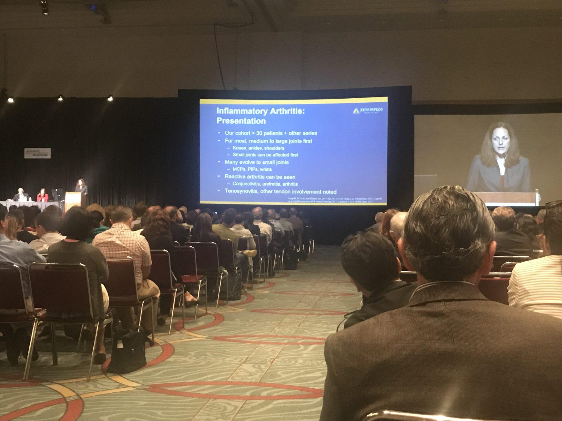 Arthritis Presentation at ACR 17