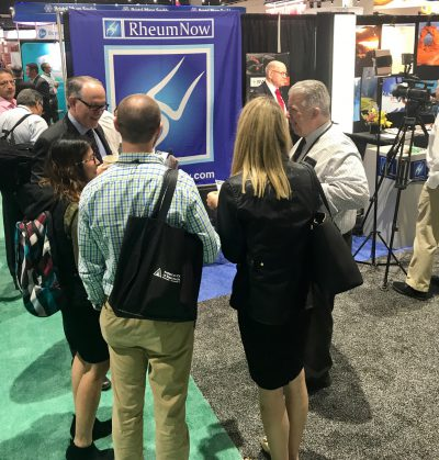 The RheumNow Booth at ACR 17 - 2