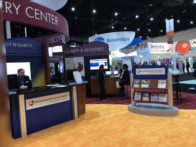 Booths at ACR 17